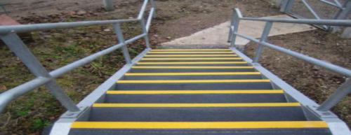 UpStair - mehr Sicherheit auf Treppen